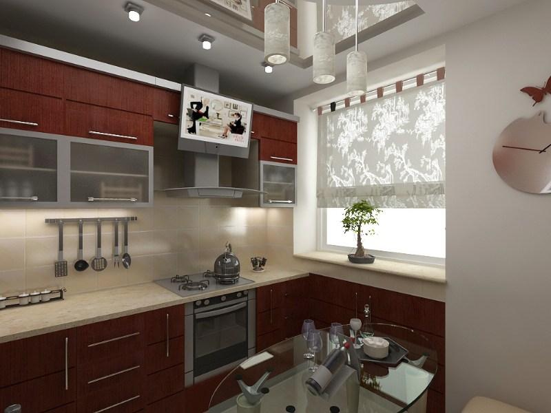 фото альбом Дизайн интерьера Маленькая кухня