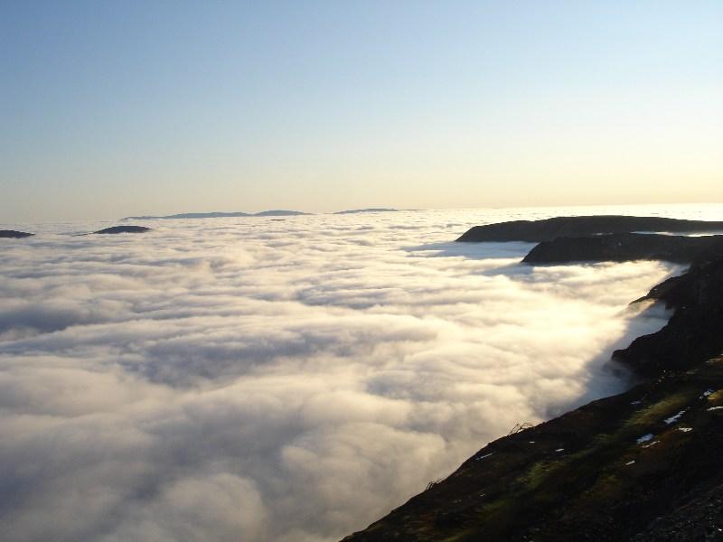 фотографии альбом На плато Расвумчорр ...под нами облака...