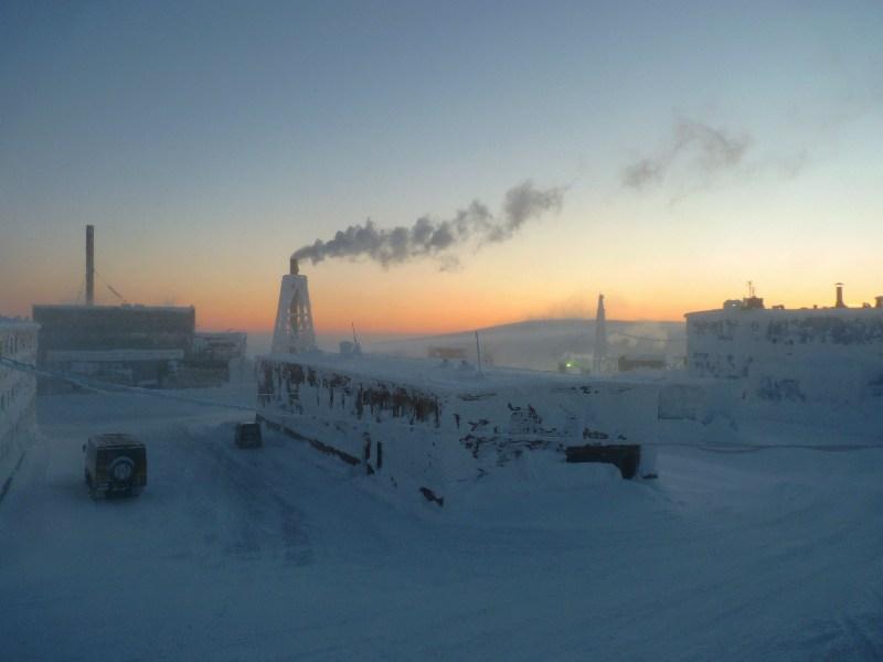 фото альбом ...на плато Расвумчорр... ...полярная ночь...