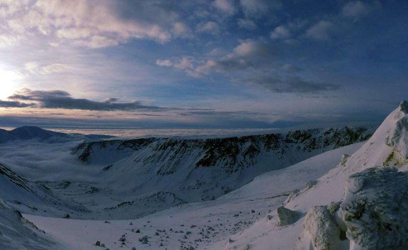 фото альбом ...на плато Расвумчорр... ...восход солнца...