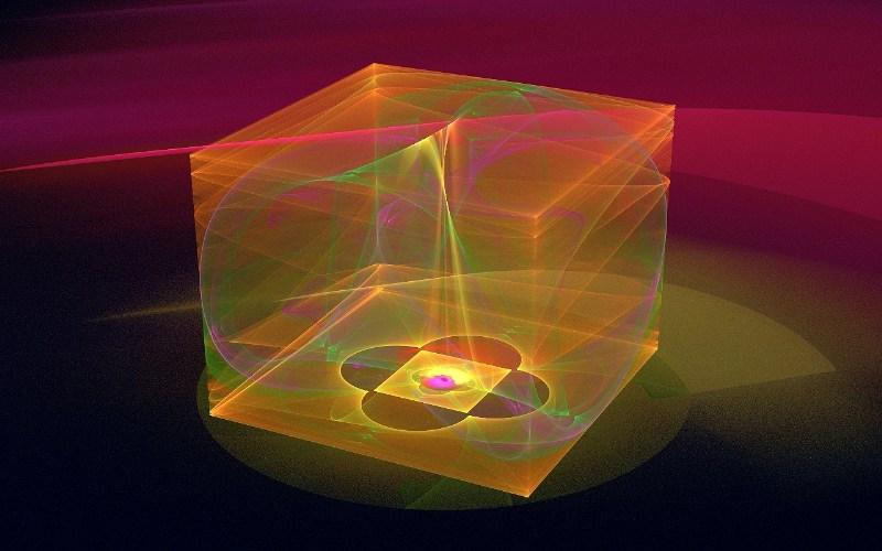 фото альбом Новые фракталы Волновой куб