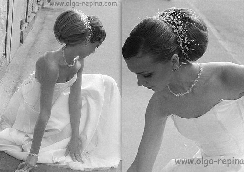 фото альбом Прически. макияж, грим Свадебная прическа. Прическа Бант, Шар. Репина Ольга tel. +7(812)9265695